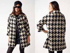 I need: the perfect houndstooth coat. Like this one.