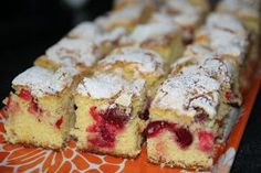 Pandispan cu visine | MiremircMiremirc Cake Recipes, Dessert Recipes, French Toast, Deserts, Muffin, Food And Drink, Pudding, Sweets, Bread