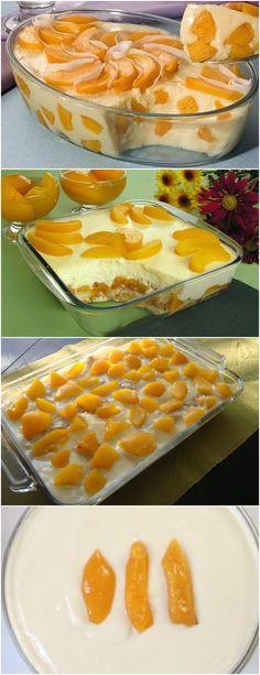 RECEITA DE CREME DE PÊSSEGO, FÁCIL E MUITO MAIS MUITO GOSTOSO!! VEJA AQUI>>>Colocar na panela o leite condensado, 3 medidas de leite utilizando a lata de leite condensado, as 3 gemas e a maizena, mexendo sempre em fogo brando até formar o mingau #receita#bolo#torta#doce#sobremesa#aniversario#pudim#mousse#pave#Cheesecake#chocolate#confeitaria#