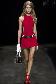 Moschino Spring 2013 Ready-to-Wear - Collection - Gallery - Look 1 - Style.com