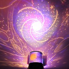 DIY Romantic Galaxy Starry Sky Projector Night Light for Celebrate Party - Star Decorations Diy Galaxie, Star Night Light, Night Lights, Night Light Projector, Online Party Supplies, Light In, Star Decorations, Wedding Decorations, Wedding Ideas