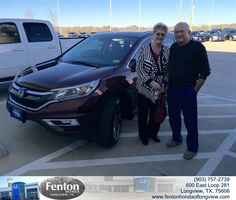 THANK YOU AGAIN BRIAN FOR THE BUSINESS - KATHY DUNCAN, Thursday, February 12, 2015 http://www.fentonhondaoflongview.com/?utm_source=Flickr&utm_medium=DMaxxPhoto&utm_campaign=DeliveryMaxx