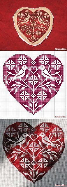 Сердечки - шьем, вяжем, вышиваем - Клуб рукоделия - Страна Мам