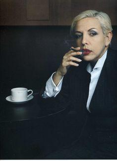 "Albita, singer, Miami Beach, Florida, by Annie Leibovitz, included in ""Women,"" published 1999 by Random House, Inc."