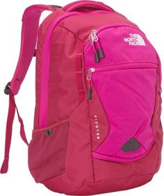 The North Face Women's Pivoter Laptop Backpack Dramatic Plum/Luminous Pink - via eBags.com!