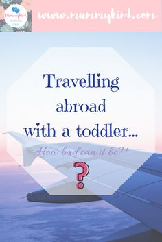 Travelling with a toddler. How bad can it be? Here are some tips and tricks to survive the long plane or car journey on your vacation! Toddler Travel, Travel With Kids, Family Travel, Car Travel, Travel Abroad, Travel Tips, Traveling With Baby, Traveling By Yourself, Long Car Trips