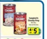 South Suburban Savings: New Coupon: $1/3 Cans Campbell's Chunky Soup or Chili + Stock Up Deal at Food4Less