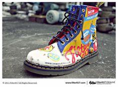 Dr. Martens X Filter017.  #boots