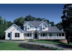 Countryview Plantation Home Plan 007D-0015 | House Plans and More