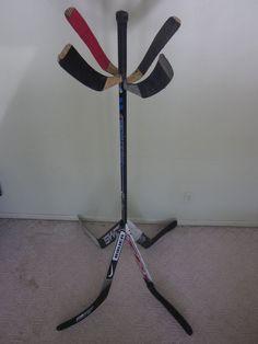 Hockey Stick Coat Tree