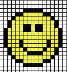 schemi -punto croce Emoticon, Emoji, Plastic Canvas Patterns, Halloween, Perler Beads, Beadwork, Pixel Art, Ale, Coding