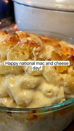 Great Recipes, Snack Recipes, Favorite Recipes, Delicious Recipes, Dinner Recipes, Cheese Day, Macaroni And Cheese, B Recipe, Recipe Ideas