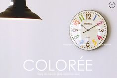 【インターフォルム】COLORÉE[コルリー]■電波時計:INTERFORM