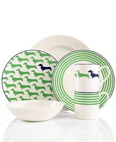 kate spade new york Wickford Dinnerware Collection - Casual Dinnerware - Dining  Entertaining - Macys ___ Trullly LOVE your dogs? VISIT our website now!
