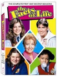 You know u were a kid of the 80's when you remember Tootie on skates, Jo running off to elope, Blair well, being Blair, and Natalie was the first to have sex.  Yep..learning the facts of life! ;)