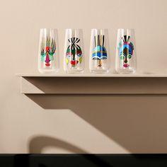 Mirage Rock & Pop@Set of 4 High Ball Glasses