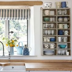 Kitchen sink area   Cotswold Farmhouse   House tour   PHOTO GALLERY   country homes & interiors   Housetohome.co.uk