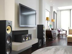 B&W New 600 series range of bookshelf and floor stand speakers for hifi and home cinema. #new600series