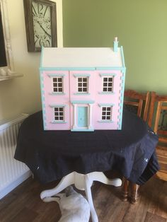 Hand painted my little girls doll house
