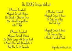 She ROCKS Fitness Workout