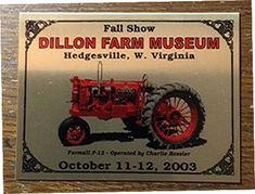 Hedgesville, West Virginia, Dillon Farm Museum.