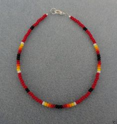 Jewelry Making Bracelets Red Sunburst Bead Anklet,Ankle Bracelet Native American in Jewelry Seed Bead Bracelets, Seed Bead Jewelry, Ankle Bracelets, Beaded Jewelry, Jewelry Bracelets, Handmade Jewelry, Jewelry Watches, Handmade Bracelets, Anklet Jewelry