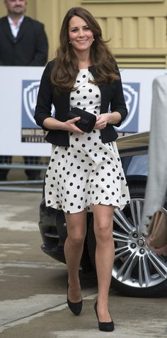 Kate Middleton Fitted Jacket