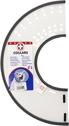 "Remedy + Recovery E-Collar, Small. Padded Neckline for Comfort. Please check size chart and measure dogs neck prior to purchase. Small fits 5.75"" to 9.5"" neck size of dog, Lightweight & Transparent - Reduces Anxiety of Tunnel Vision. Safer than other Elizabethan Collars Because it Does not Block Vision. Easy to Adjust for Perfect Fit. Comfortable and Humane. Helps Overcome Lick-Bite, Itch-Scratch Cycle. Ends Self-Inflicted Wound Aggravation or Mutilation. Allows Tropical Medications to be…"