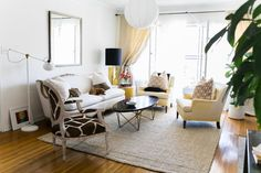Baiyina's Sophisticated 'Paris Meets Los Angeles' Home | Apartment Therapy | www.storgellc.com