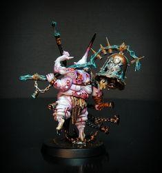 Chaos Legion, Chaos Daemons, Chaos 40k, Fantasy Miniatures, Miniture Things, Warhammer 40k, Death, Oui, Painting