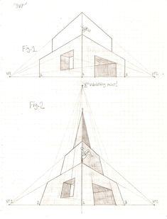Perspective Tutorial: 3VP 1 by GriswaldTerrastone on DeviantArt