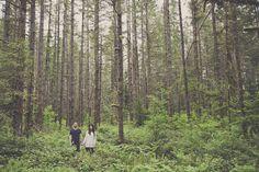 Romantic Woodland Engagement Shoot | Terra Rothman Photography | Bridal Musings Wedding Blog 6