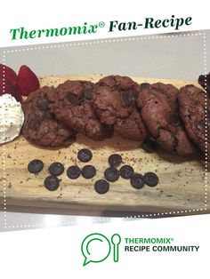 Recipe Craigs Dark Chocolate BROOKIES (Gluten free) by Thermo dude food, learn to make this recipe easily in your kitchen machine and discover other Thermomix recipes in Baking - sweet. Gluten Free Snacks, Gluten Free Cookies, Gluten Free Baking, Gluten Free Recipes, Sugar Free Cookie Recipes, Dude Food, Thermomix Desserts, Brookies, Paleo Treats
