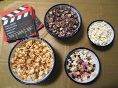 Themed Popcorn Bar #oscars #food