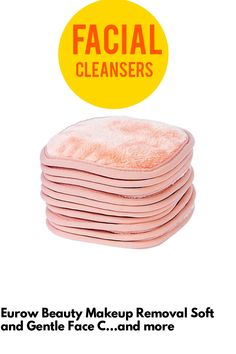 (This is an affiliate pin) Eurow Beauty Makeup Removal Soft and Gentle Face Cleaning Cloths For All Skin Types 5 X 5 Inches 10 Pack Face Cleaning, Cleaning Cloths, Facial Cleansers, Soft And Gentle, Clean Face, Makeup Remover, Beauty Makeup, Coral, How To Remove