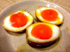 得意料理!  煮卵です。