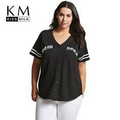bcecc4171a3 Casual V-neck Printing T-shirt Tigers Baseball