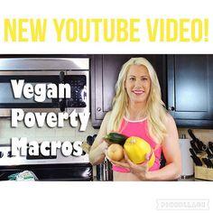 Vegan Poverty Macros for anyone on a cut - HollyBrownFit.com Vegan Nutrition, Fitness Nutrition, Bikini Prep, Vegan Bodybuilding, Bikini Competitor, Macros, Workout Challenge, Abs, Told You So