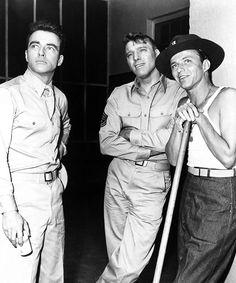 Montgomery Clift ,Burt lancaster, Frank Sinatra