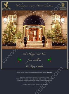 Merry Christmas from The Ritz Hotel,