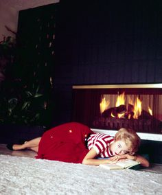 Sandra Dee photographed at home by Richard C. Miller, November 3, 1959.