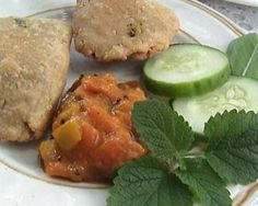 Samosas are a delicious Indian pastry. These gluten-free, dairy-free spicy filled savories are perfect as a snack, a boxed lunch, a picnic or entertaining. Serve Samosas with gluten-free chutney or dipping sauce.