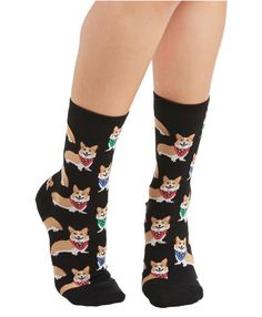 We all want to take our Corgis EVERYWHERE with us... unfortunately it's not appropriate to (...yet). Luckily, you can now show your corgi love wherever you go with our popular Oh My Corgi Socks! These