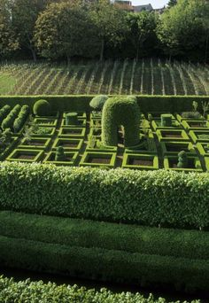 Formal Garden Designs and Ideas Have you ever really thought about how many people see the outside of your home? Garden Balls, Topiary Garden, Garden Art, Garden Ideas, Formal Garden Design, Garden Landscape Design, Formal Gardens, Outdoor Gardens, Garden Hedges