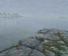 """Morgendis ved sjøen"". www.oseland.info"