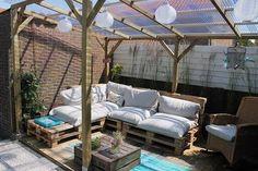 Bekijk de foto van eer1969 met als titel onze veranda is klaar!Met dank aan Welke voor de inspiratie!! en andere inspirerende plaatjes op Welke.nl.
