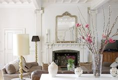 Clean and simple, but with ornate touches