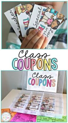 Looking for a great classroom management strategy that kids and teachers will love? Classroom reward coupons are the perfect idea for handling behavior in a positive way! by diane.smith