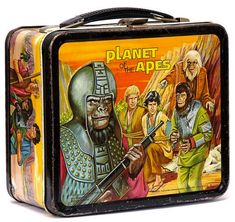 "Cool or uncool? In 1974, a ""Planet of the Apes"" lunch box was definitely cool."