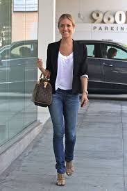 Resultado de imagem para Pinterest jeans older women Blazer Jeans, Black Blazer Outfit Casual, Women Blazer Outfit, Black Wedges Outfit, Cute Blazer Outfits, Casual Blazer Women, Jeans And Blazer Outfits, Shorts Jeans, Casual Mom Outfits